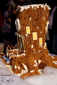 Gingerbread Tree House - photo by Renel Holton - www.renelholton.com