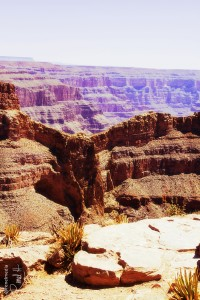 Eagle Point at the Grand Canyon West Rim - photo by Renel Holton - www.renelholton.com / 3134edit