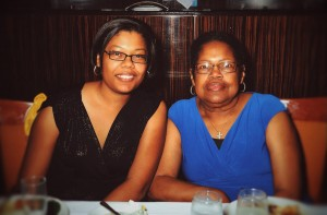 Me and mom on cruise - www.renelholton.com