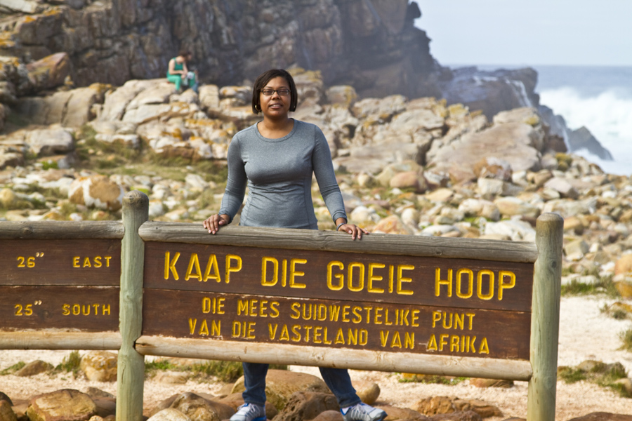 Renel at Cape of Good Hope, South Africa - photo by Renel Holton - www.renelholton.com / IMG_7507