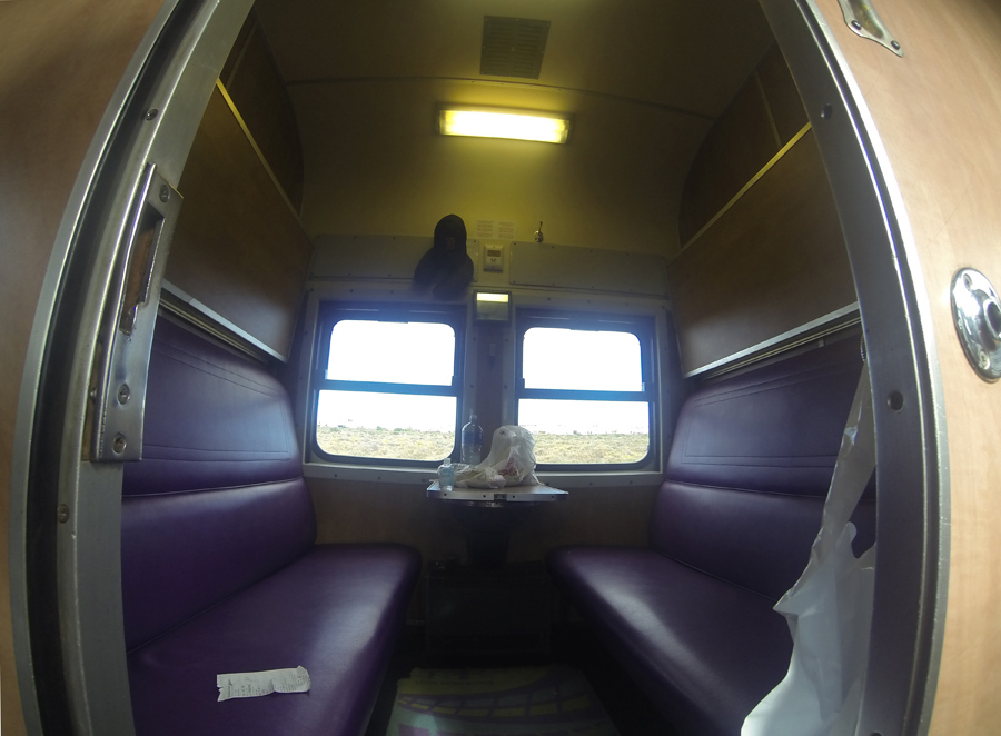 Shosholoza Meyl train cabin - photo by Renel Holton - www.renelholton.com / GOPR0016