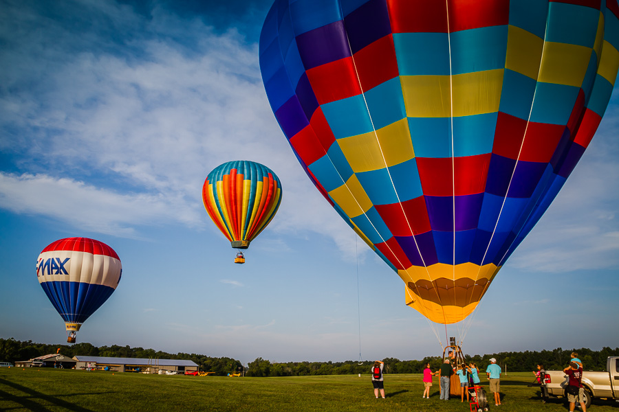 Flying Circus Balloon Festival / photo by Renel Holton / www.renelholton.com / IMG_2090