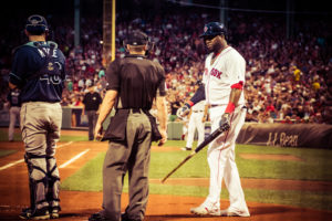 David Ortiz walking to plate edit 1 - photo by Renel Holton