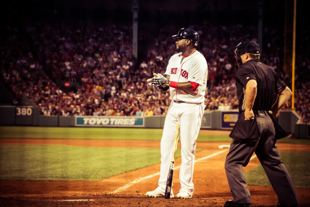 David Ortiz prepping to bat edit 2 - photo by Renel Holton